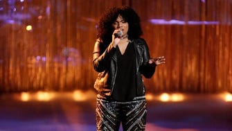 """Wé McDonald performing on """"The Voice."""""""