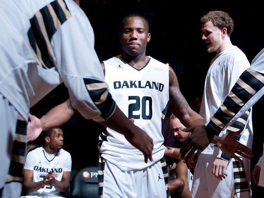 Oakland guard Kay Felder.