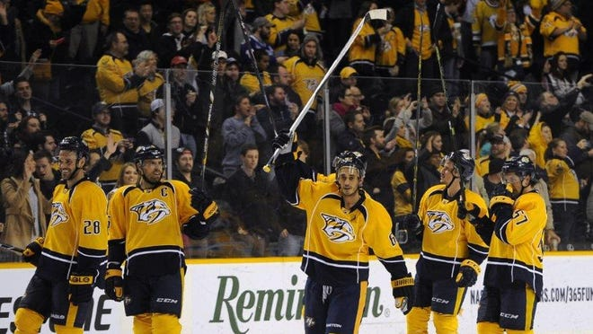 The Predators have been nearly unbeatable at home this season, winning 25 of 29 games.