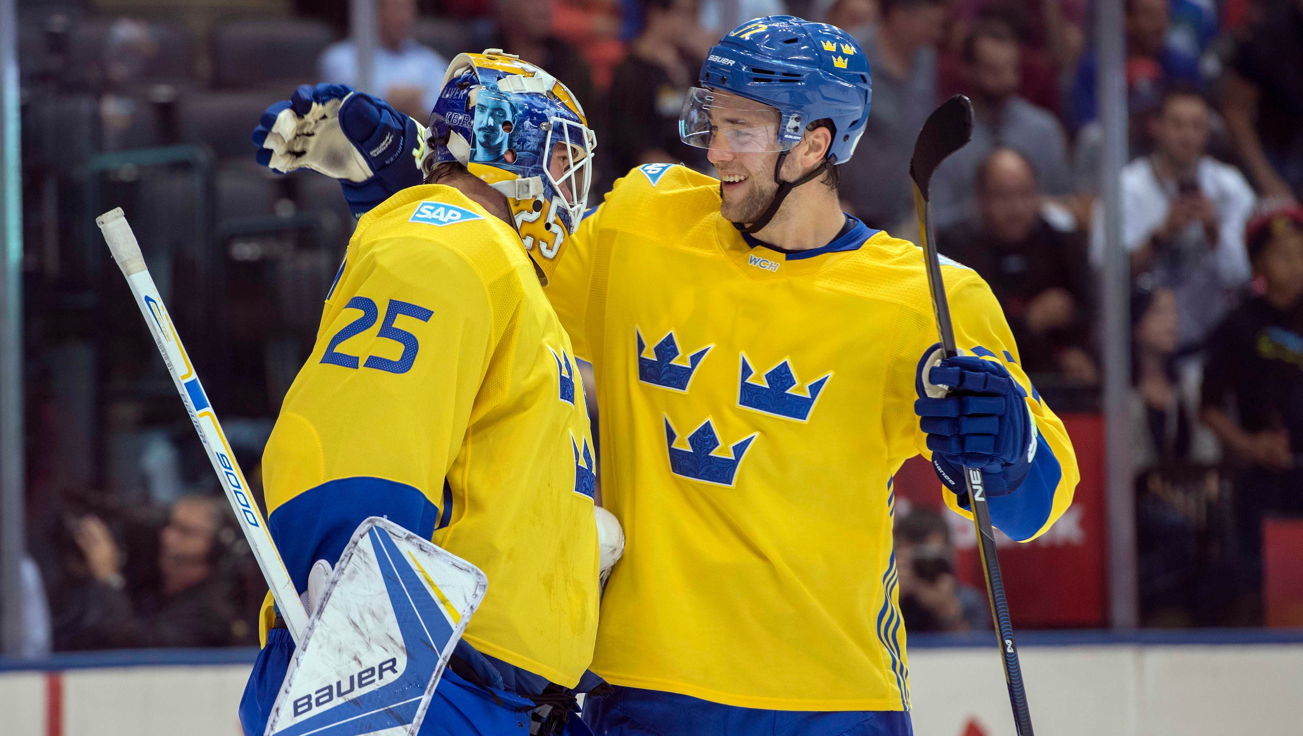 Fill In Jacob Markstrom Guides Sweden Past Russia At World Cup Of Hockey