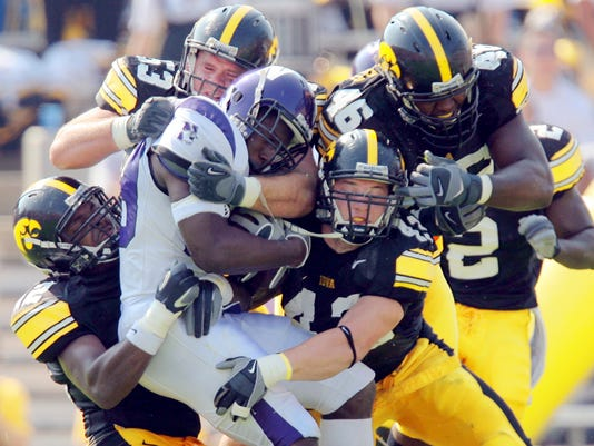 IOWA VS. NORTHWESTERN
