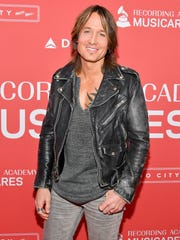 Stagecoach headliners include country singer Keith Urban.