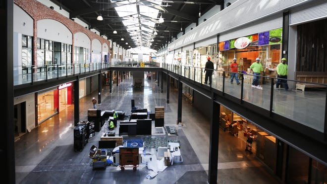 An interior view of the new mall at Liberty Center in Butler County. One reader says questions are taking away from the positive image of the center.