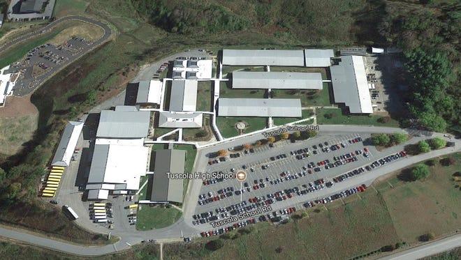 Tuscola High School in Waynesville, North Carolina.