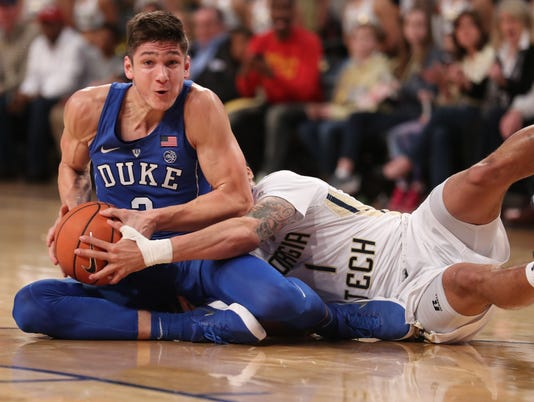 NCAA Basketball: Duke at Georgia Tech
