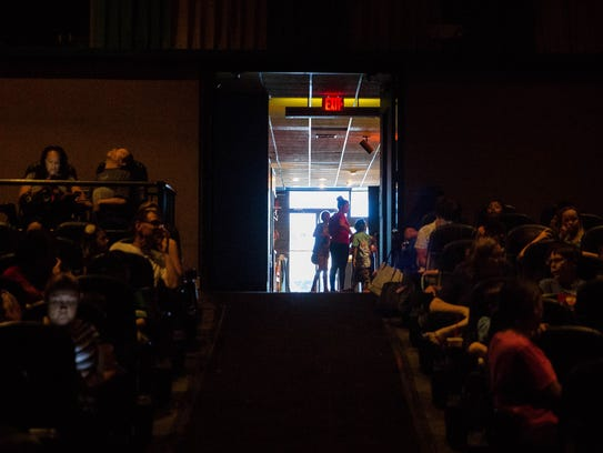 Kids and their families fill theaters at Video 4 for