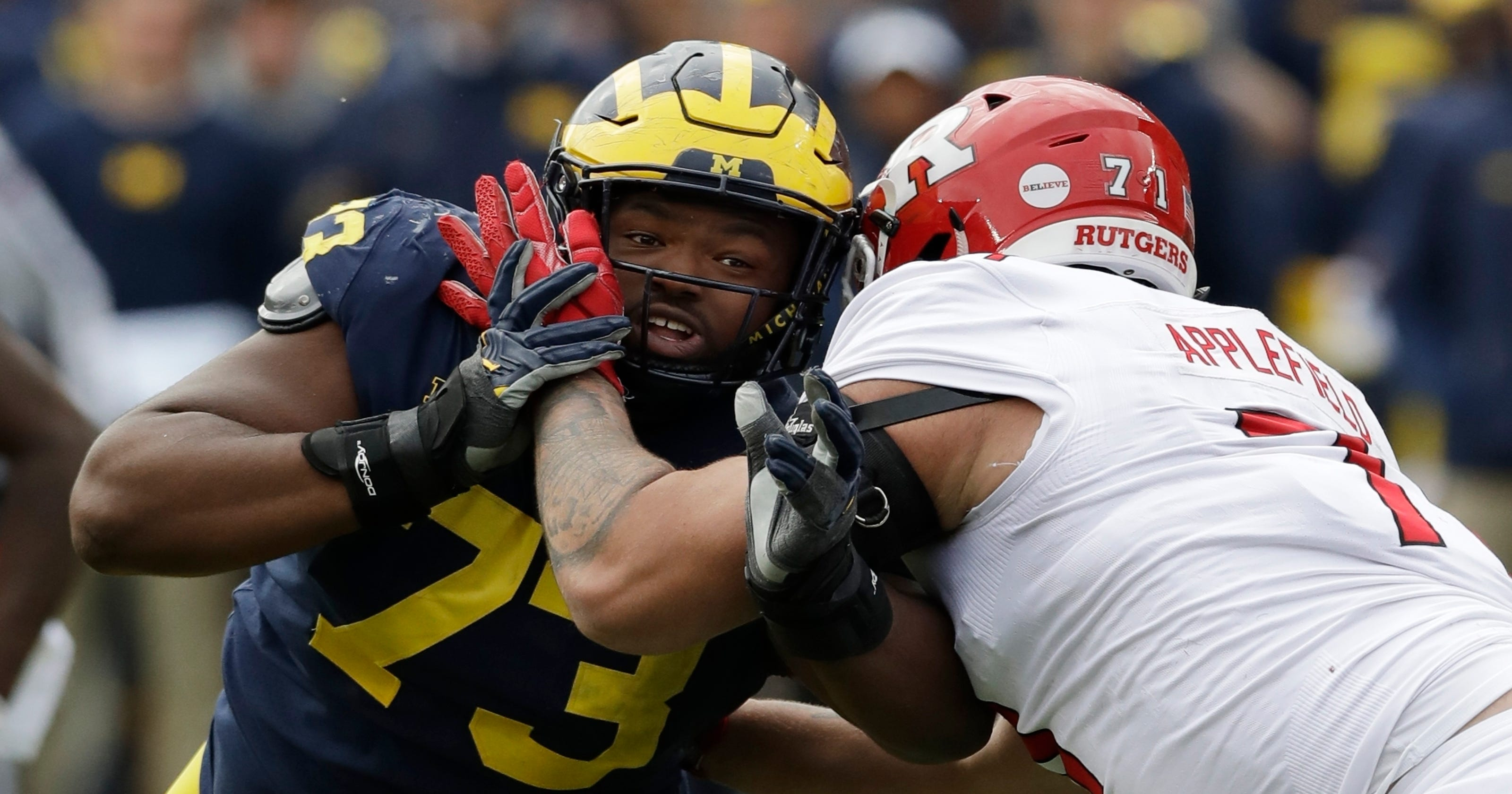 648a62e8 Maurice Hurst passes Michigan Pro Day 'with flying colors'