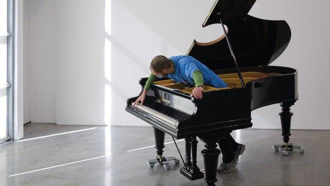 Stop, Repair, Prepare: Variations on Ode to Joy, No.1, 2008. Allora & Calzadilla (born 1974 and 1971)