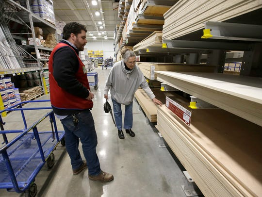 Lowe's Assistant Store Manager Patrick Mulloney, of