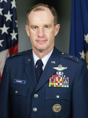 An undated photo of retired U.S. Air Force Lt. Gen. Thomas McInerney.