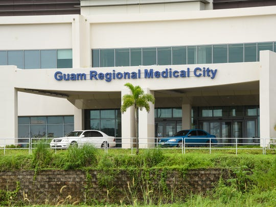 The entrance to Guam Regional Medical City is shown