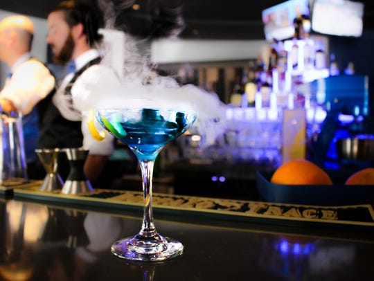 The Blu Halo is the first full-service restaurant to