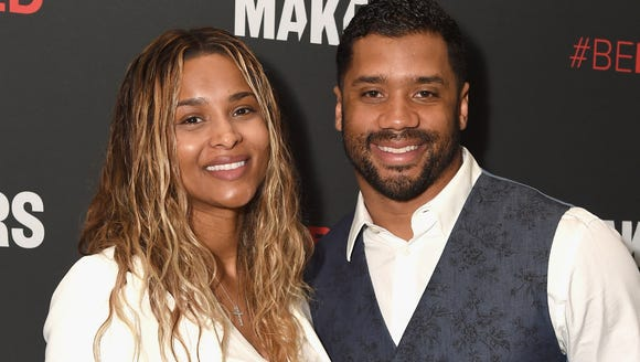 Being super pregnant did not stop Ciara from getting