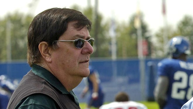 Ernie Accorsi in 2006 as Giants general manager.