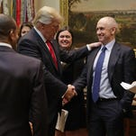 Christopher Liddell, ex-Microsoft and GM executive, is strong candidate to become Trump's new economic guru