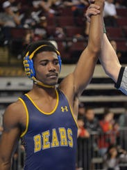 Carencro's Billy Clay reached the 170-pound semifinals