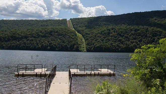 Raystown Lake has been affected by a spill of drilling materials associated with construction of the Mariner East 2 pipeline. The Huntingdon County lake - the largest lake in the state - is a popular destination for boaters and anglers.
