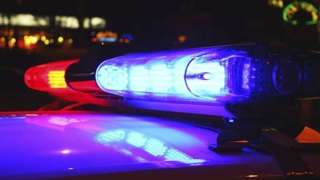 A Lansing man riding a motorcycle north of Michigan State University's campus failed to yield to a passenger van early Saturday, causing a crash that killed him and his female passenger, police said.