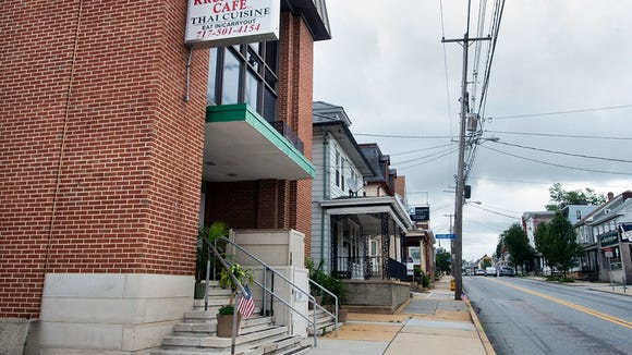 Krua Thai Cafe at 45 East Main Street in Dallastown is in a former bank building.  Paul Kuehnel - York Daily Record/ Sunday News