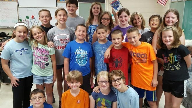 Students in Ozark's gifted education program, called Kids In Talented Educational Studies, or KITES, participated in a summer enrichment program.