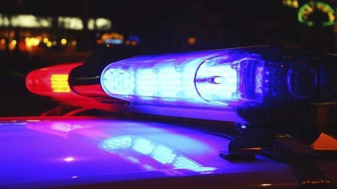 Eastbound Saginaw Street is closed at Cedar Street because of a vehicle-pedestrian crash.