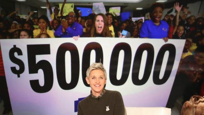 The Ellen DeGeneres Show earlier this year reached out to Detroit Public Schools to help Spain Elementary-Middle School make improvements.