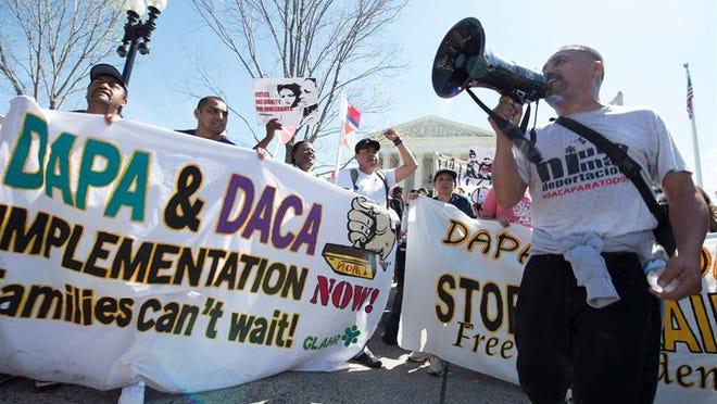 A DACA rally in Washington.  (EFE/Archivo)