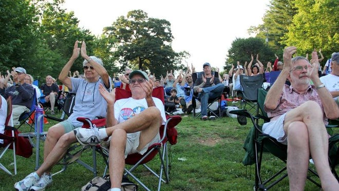 Park Rhythms, a popular Black Mountain concert series hosted by the recreation and parks department, will be held downtown on three dates this summer. The series is entering its 24th season at Lake Tomahawk.