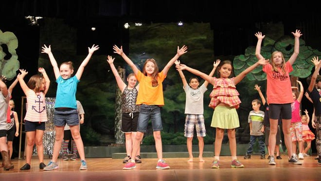 "Thirty young actors made up the cast of ""Disney's Jungle Book KIDS,"" a previous production of Ardmore Little Theatre."