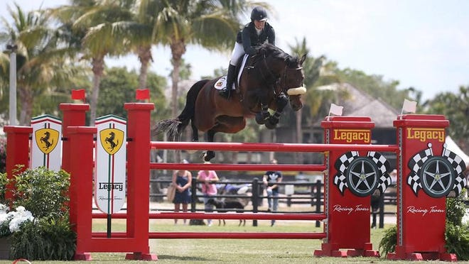 Beezie Madden, shown competing in last season's Winter Equestrian Festival in Wellington, is one of the favorites to make the  U.S. Olympic team.