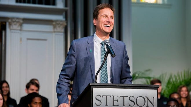 Christopher Roellke, who started this week as Stetson University's 10th president, faces challenges posed by COVID-19 in addition to looking long-term at keeping the DeLand school's curriculum relevant and its student body increasingly diverse.