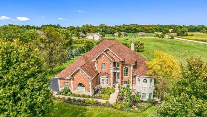 This home located at 972 Stonegate Dr, Belvidere is on the market for $550,000 [PHOTO PROVIDED].