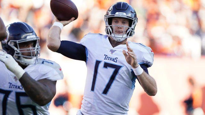 In the offseason, the Tennessee Titans signed former Texas A&M quarterback Ryan Tannehill, who threw for 88 and 72 yards in consecutive playoff games, to a four-year, $118 million contract that includes $62 million guaranteed.