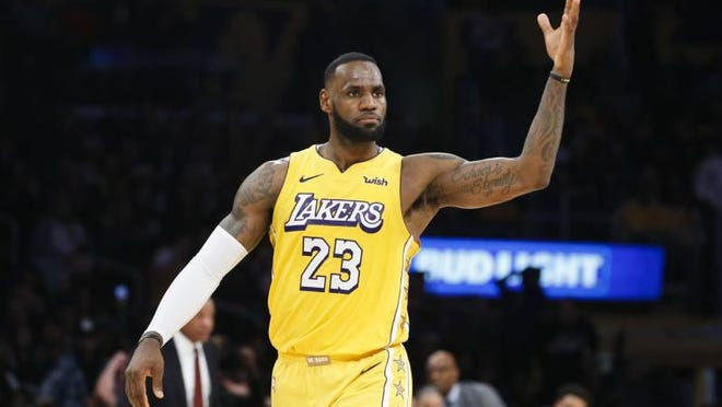 LeBron James is one of the greatest NBA players ever.