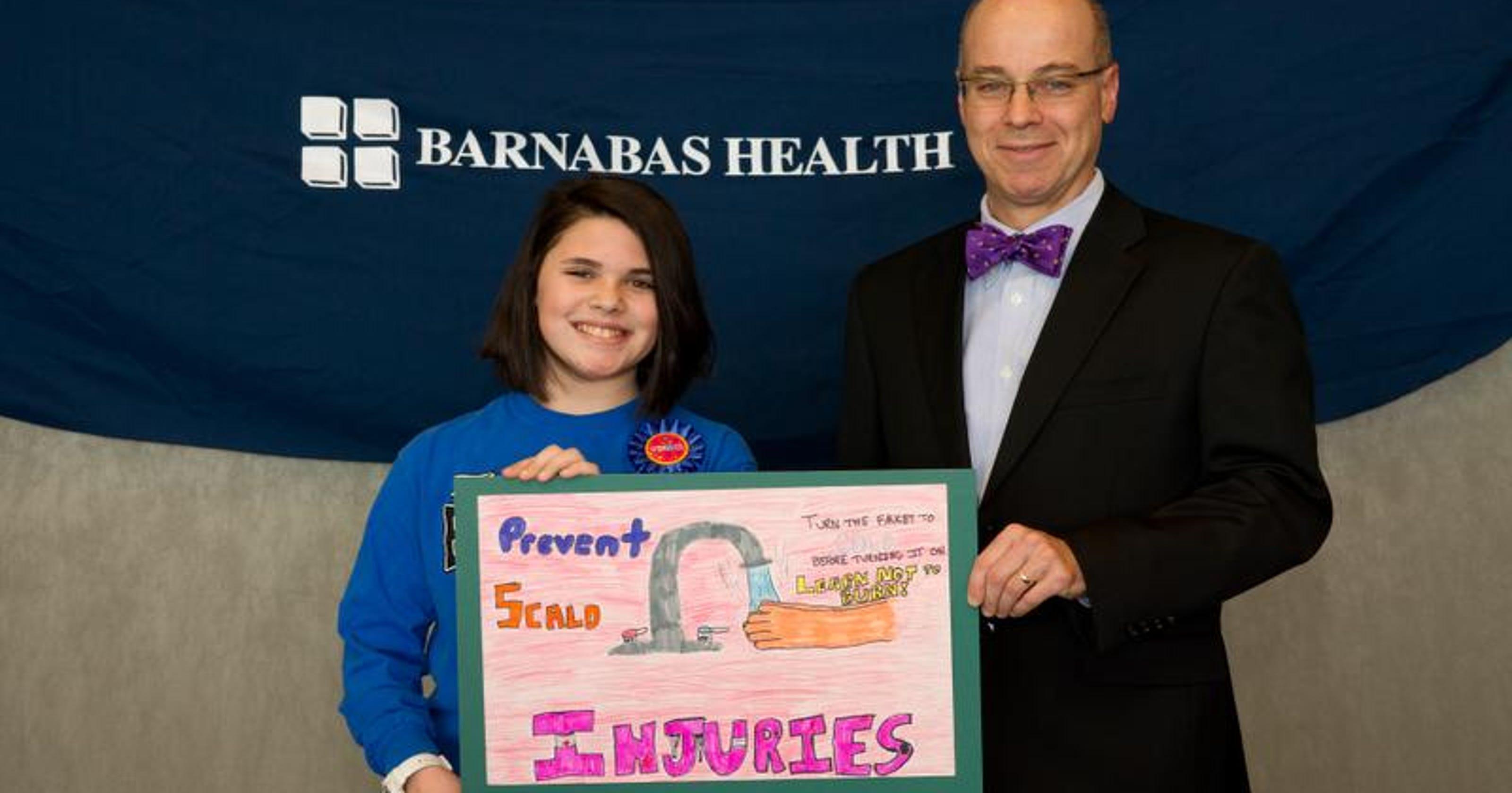 Saint Barnabas burn foundation honors young artists at