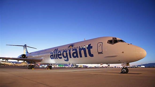 FILE: Allegiant Airlines plane.