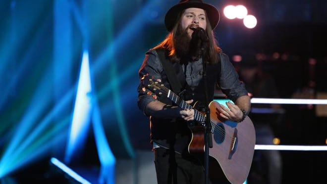 """Cole Vosbury, of Shreveport, is a competitor on NBC's """"The Voice."""""""