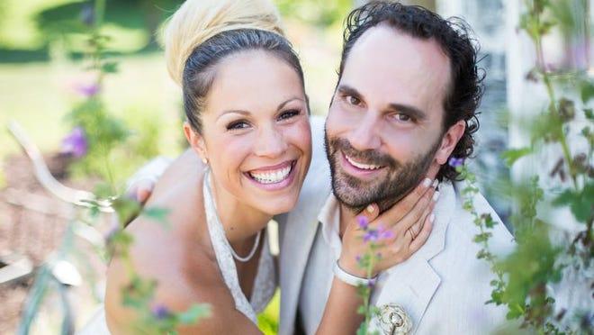 Ashleigh Stevenson and Tom Kendrot were married June 29.