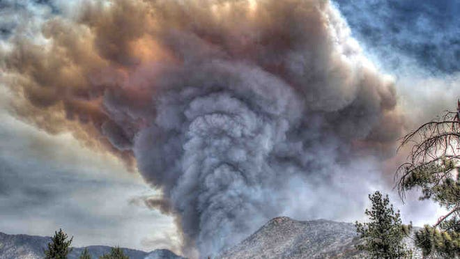 The 2013 Mountain Fire burned 27,531 acres last July and destroyed 23 structures, including seven residences. Fighting the fire cost more than $25.6 million.