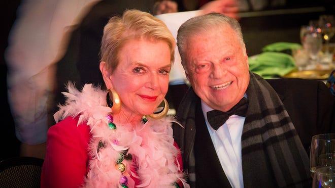 Sponsors Donna MacMillan and Harold Matzner.
