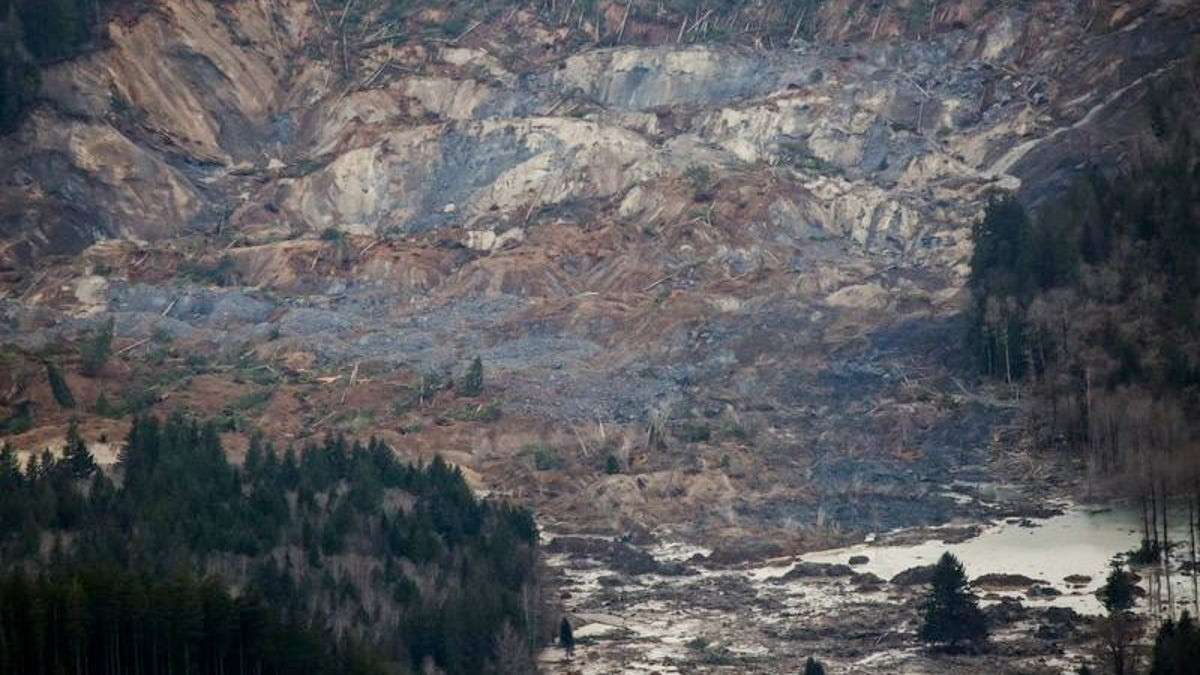 Officials 18 Missing In Washington Mudslide