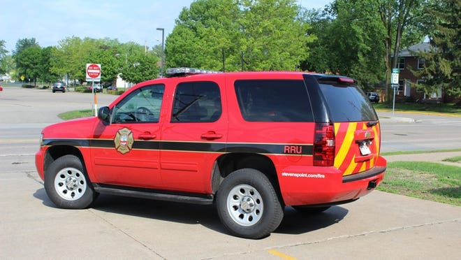 The Portage County Rapid Response Unit's currently vehicle is a Chevrolet Tahoe purchased by the county in 2013.