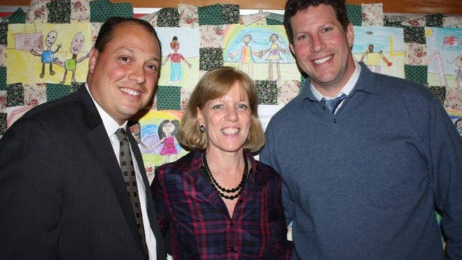 From left, Joseph Mosey, Mary Foster, and David Fine are at the center of Peekskill's Reorganization Plan.