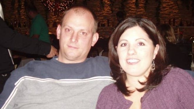 Steven Hart and his wife, Heather