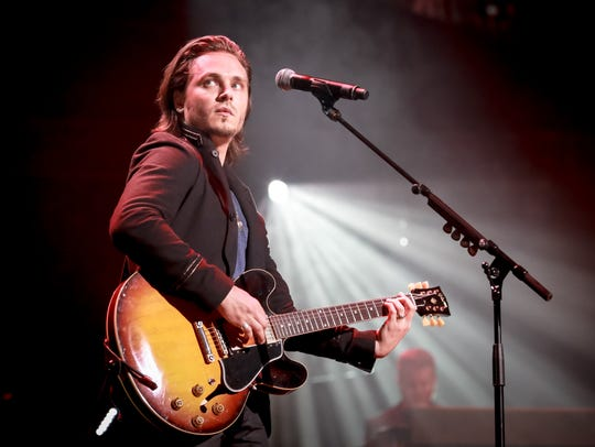 Jonathan Jackson performs on the 'Nashville' 2017 tour.