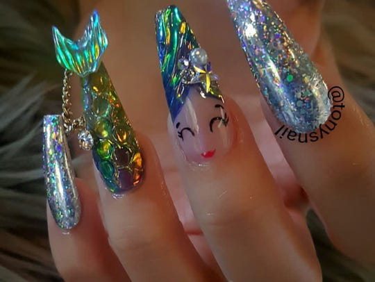 Tony Ly became a rock star in the nail world a couple