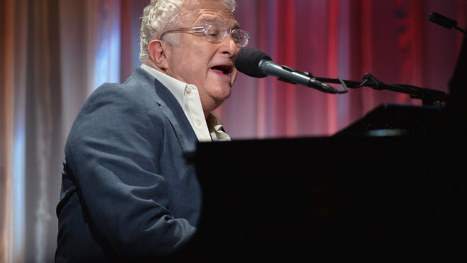 Randy Newman performs at the 2013 UCLA Neurosurgery Visionary Ball in Beverly Hills, Calif.