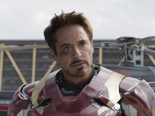 Saving the world has taken a toll on Tony Stark (Robert