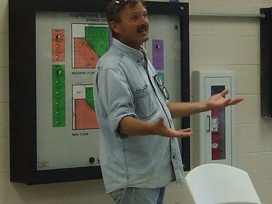 Stewart County Detention Facility Project Manager Brian