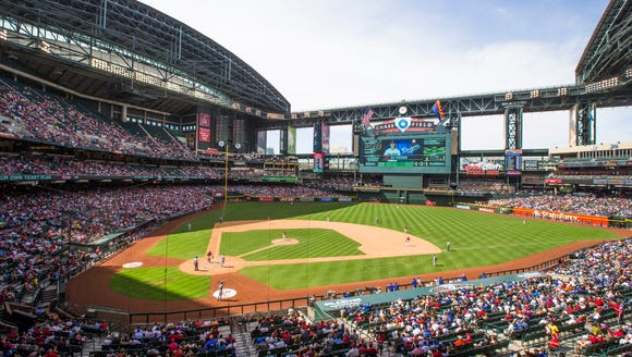 Chase Field. So, are you thinking, 'What a dump?'
